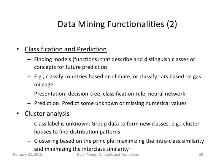 Master thesis proposal data mining - Have Your Essay