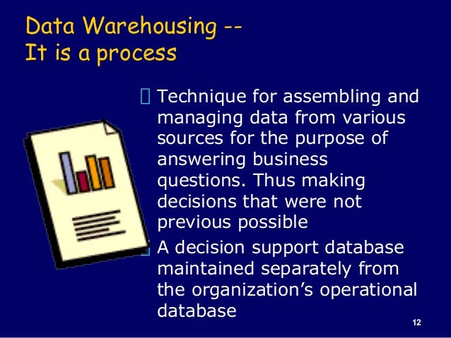 Data warehouse case study on supermarket