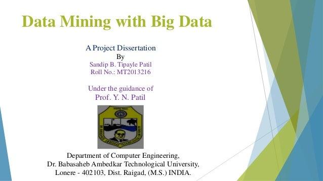 Datamining Dissertation