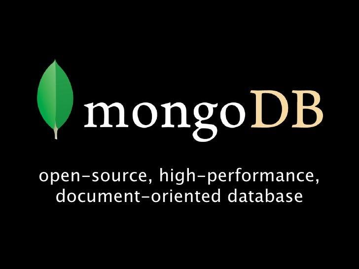 Schema Design with MongoDB