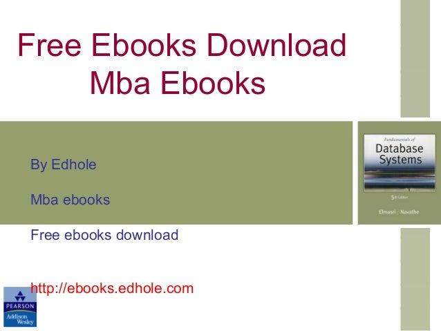 Mba ebooks
