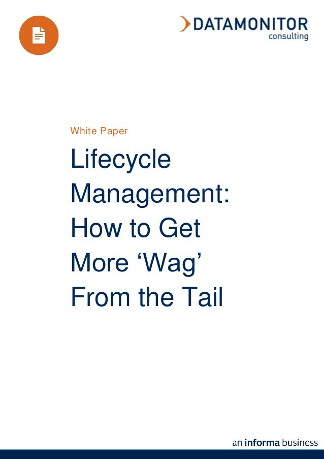 White PaperLifecycleManagement:How to GetMore 'Wag'From the Tail