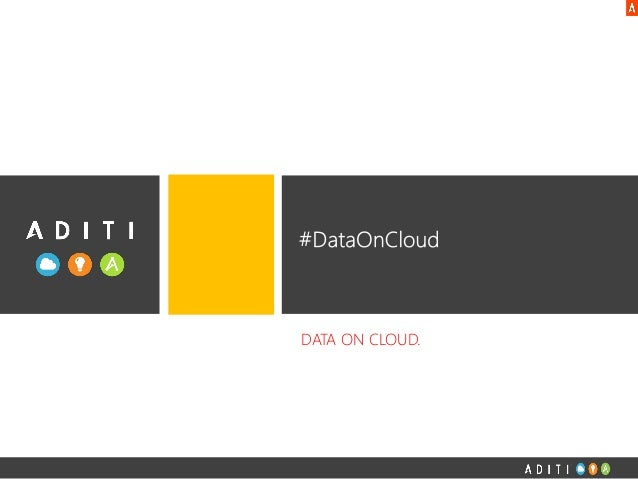 #DataOnCloud Seattle Event
