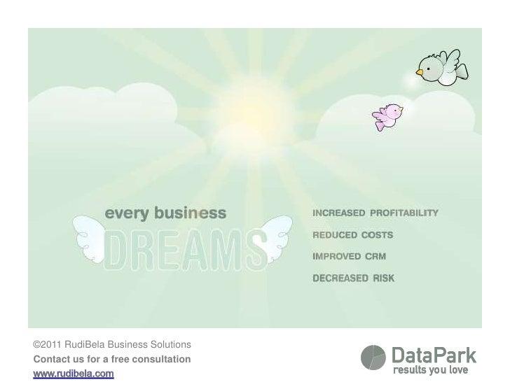 Datapark infographic
