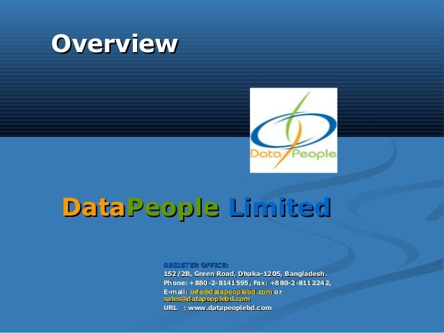 Data people services_presentation