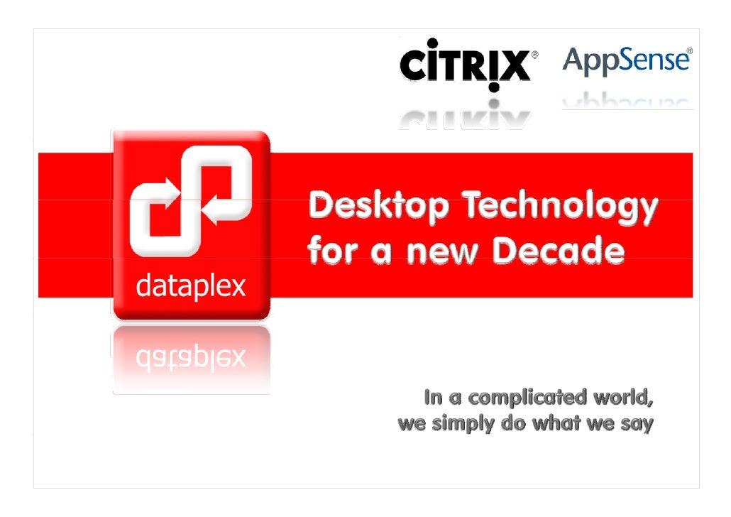 Dataplex Presentation 25022010
