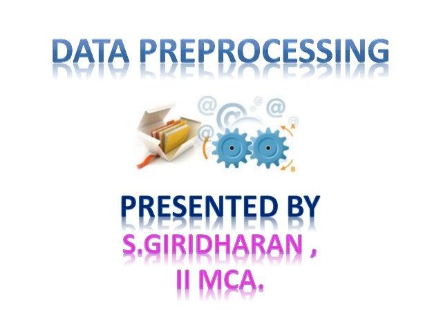 Data preprocess