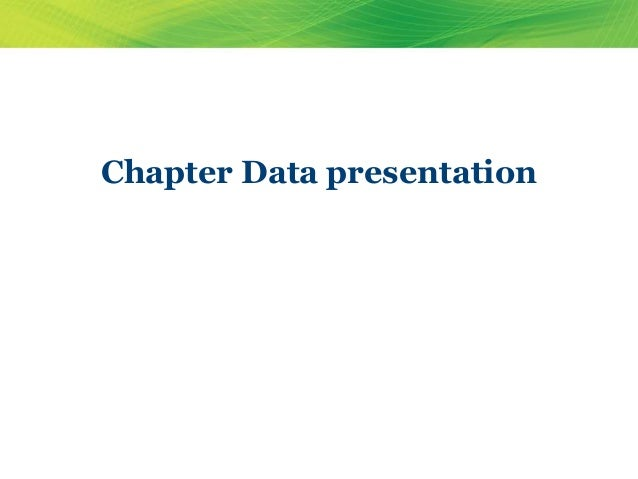 Tips For Better Data Presentation