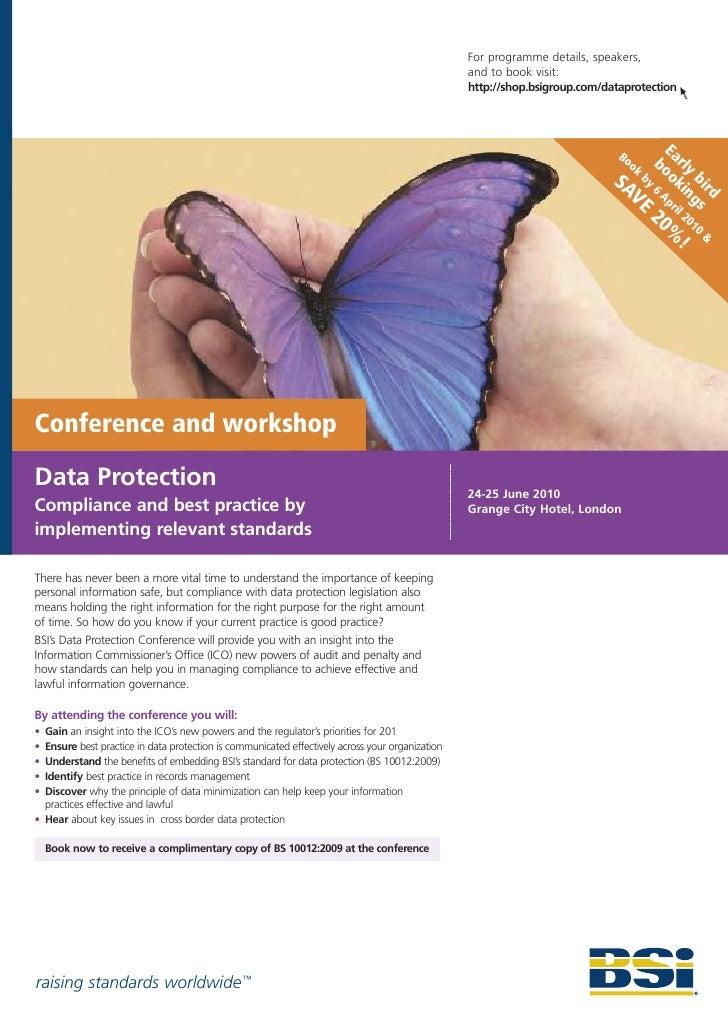 For programme details, speakers,                                                                                          ...