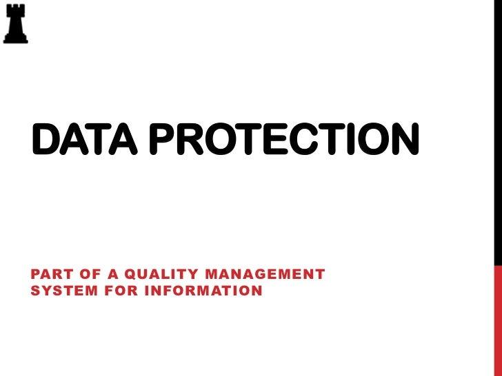 Data Protection - Daragh O Brien