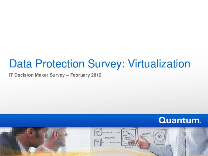 Data Protection Survey: VirtualizationIT Decision Maker Survey – February 2012
