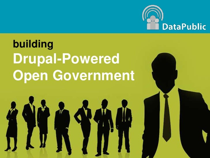 DataPublic: Open Government Portals powered by Drupal