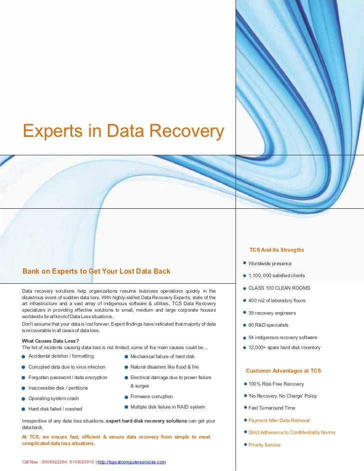 Get back recovery data