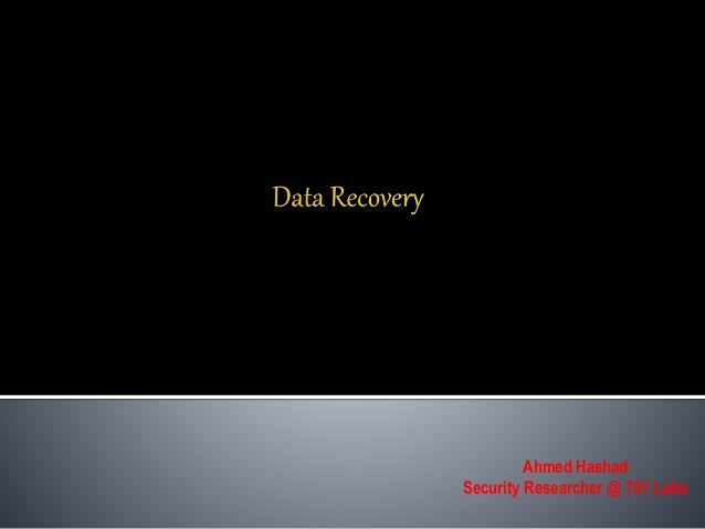recovery of digital evidence Old analog based technology to a fast changing and diverse digital world  days' , any first responder could recover video evidence from an analog recording.