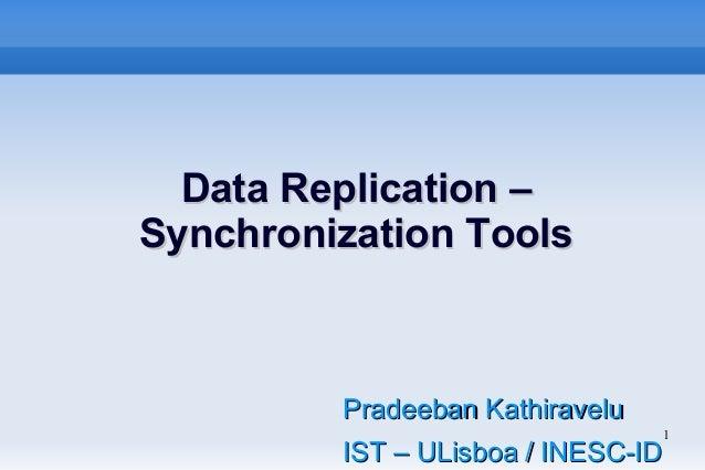 Data Replication - Synchronization Tool for TCIA