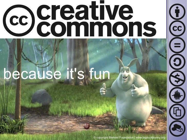 Creative Commons, because it's fun