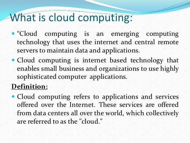 data computing models