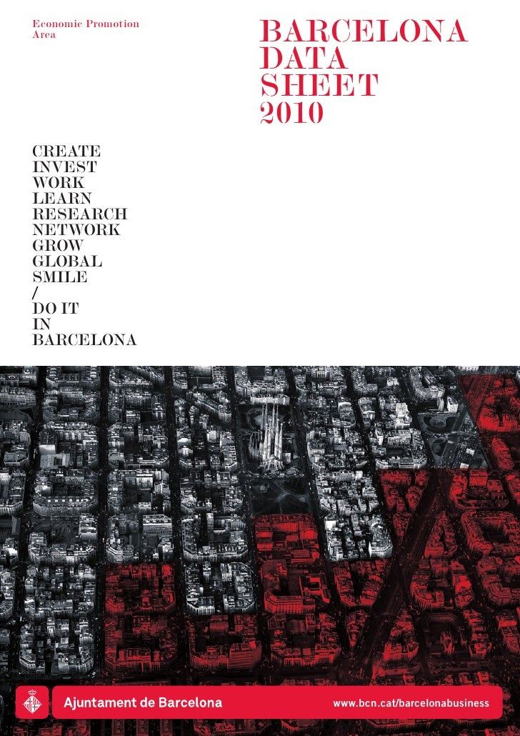 Economic PromotionArea                 BARCELONA                     DATA                     SHEET                     20...