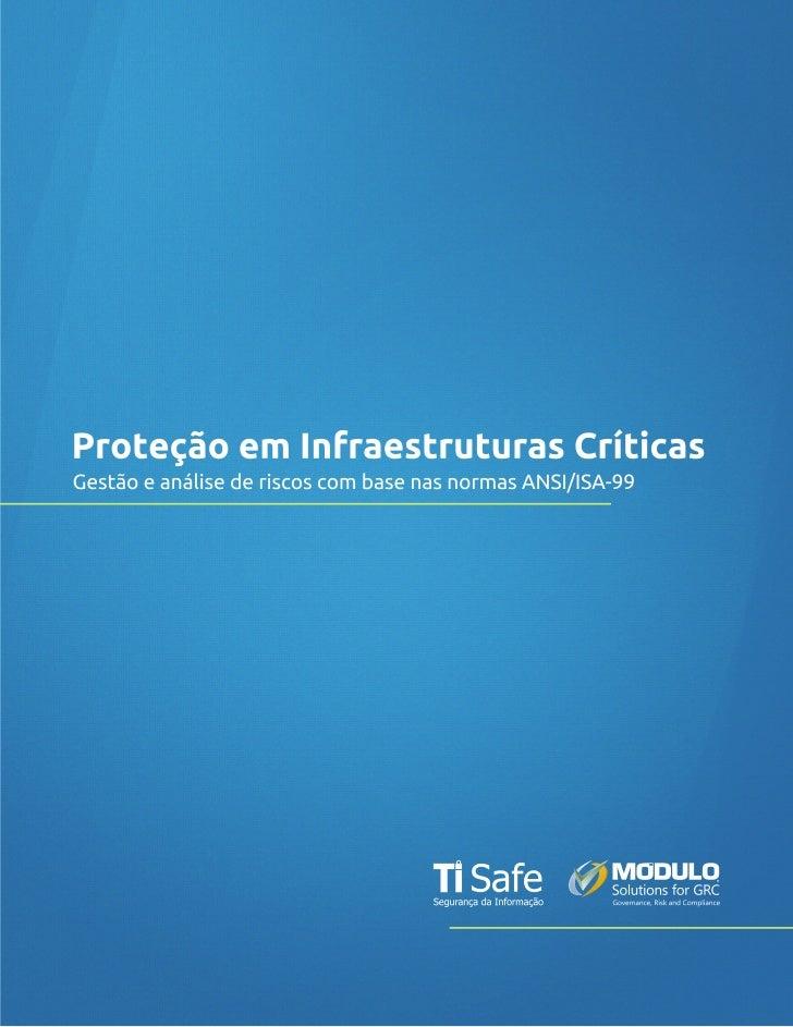 Datasheet - Gestão de Riscos em Infraestruturas Críticas