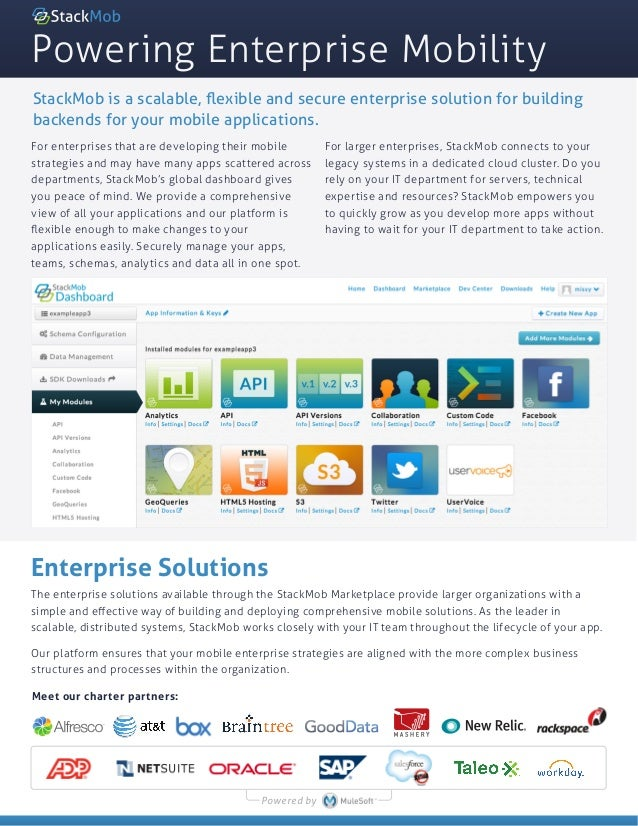 Enterprise Data Sheet