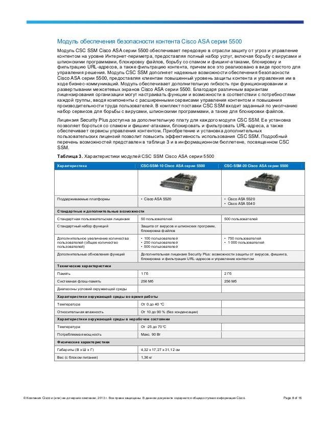 Asa 5510 руководство на русском - фото 11