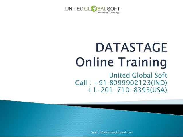 United Global SoftCall : +91 8099902123(IND)    +1-201-710-8393(USA)    Email : Info@Unitedglobalsoft.com