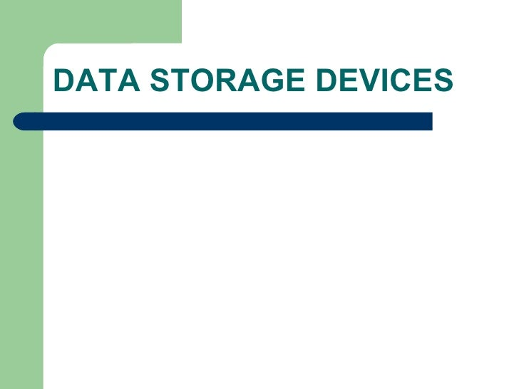 Data Storage Devices Holography