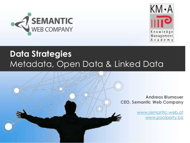 Data Strategies Metadata, Open Data & Linked Data  Andreas Blumauer CEO, Semantic Web Company www.semantic-web.at www.pool...