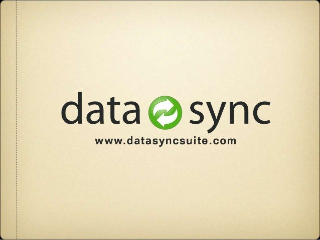 What is DataSync Suite? Introduced in 2009, DataSync Suite is a fully integrated business platform.  Connects SugarCRM to...