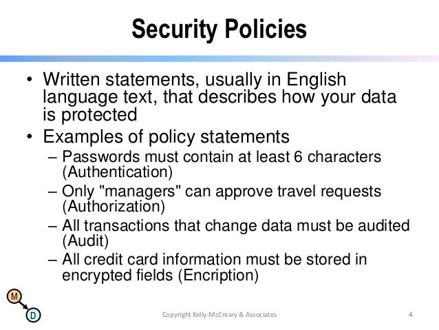 Amazing Corporate Security Policy Template Pictures Inspiration