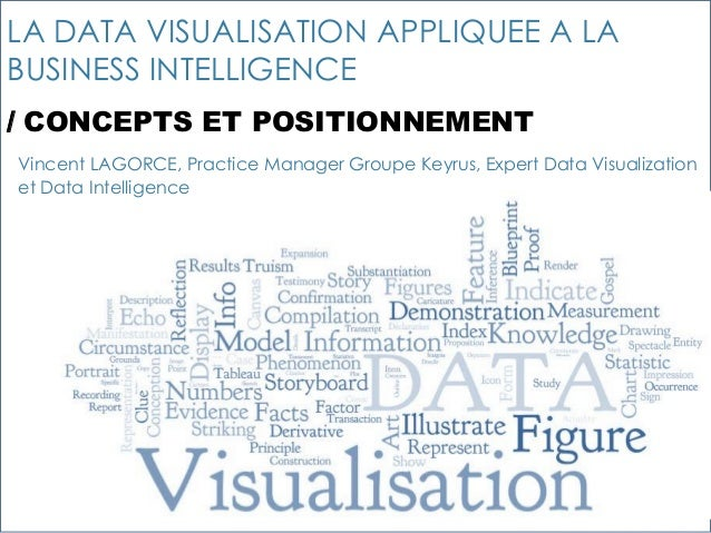 11 LA DATA VISUALISATION APPLIQUEE A LA BUSINESS INTELLIGENCE / CONCEPTS ET POSITIONNEMENT Vincent LAGORCE, Practice Manag...