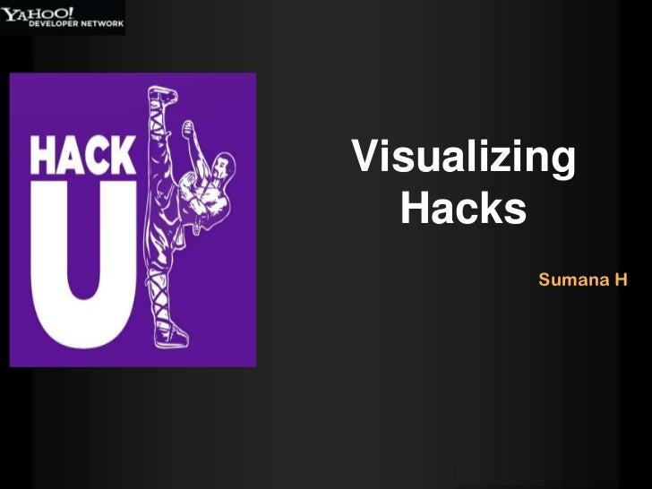 Visualizing  Hacks         Sumana H