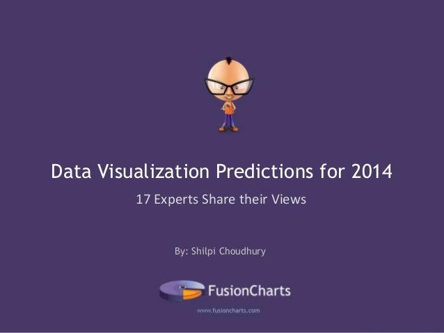 Data Visualization Predictions for 2014