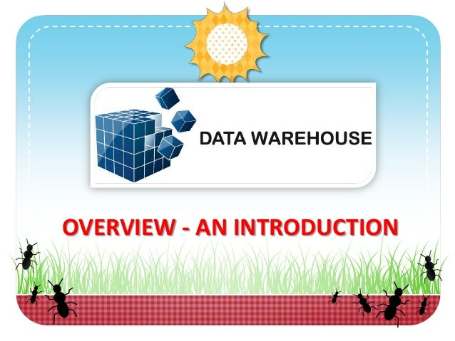 Data Warehouse Definition and An Introduction - Overview on What it is?