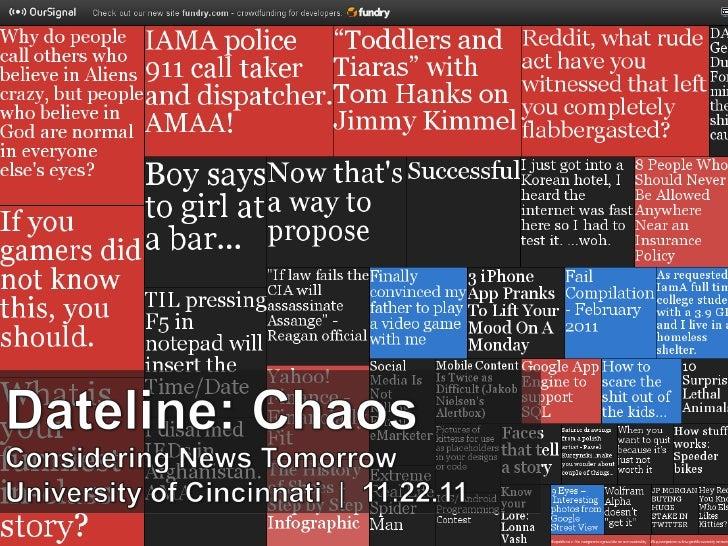 Dateline Chaos
