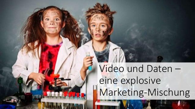 Video und Daten – eine explosive Marketing-Mischung