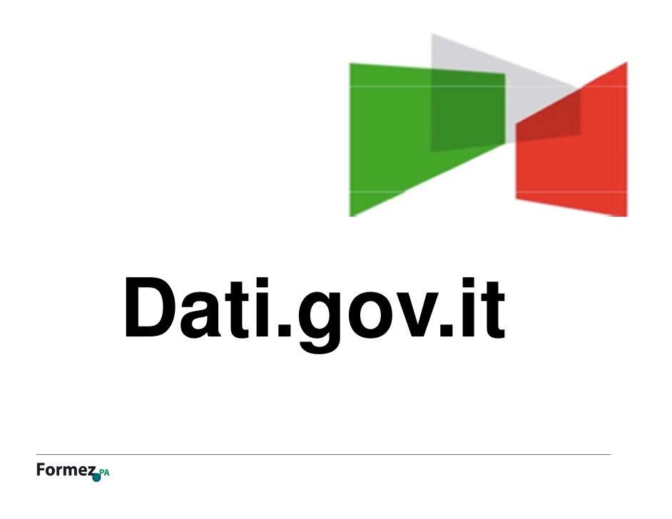Dati.gov.it forumpa 2012