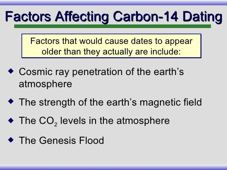Carbon dating accuracy up to