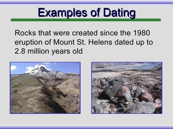 potassium dating fossils Discussion on the inaccuracies found using the carbon-14 dating method,   carbon dating of fossils formed in the flood would give ages much older than the  true ages  for example, potassium-40 decays to argon-40 uranium-238  decays to.