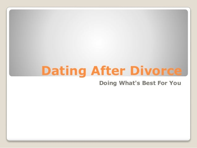 5 Rules For Dating After A Divorce