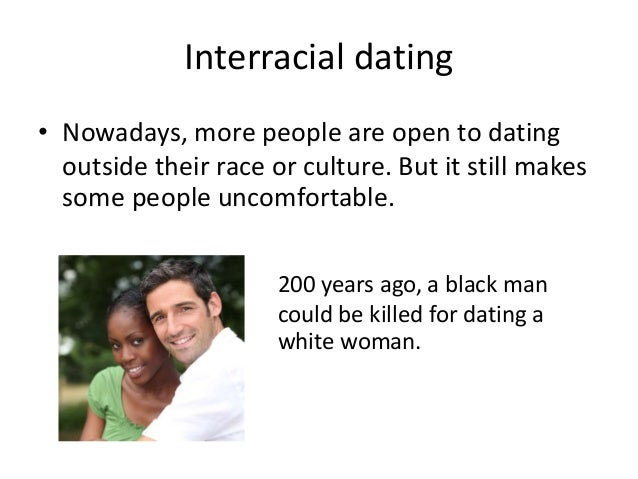 Interracial dating in the 21st century