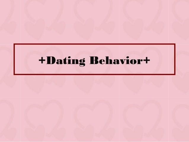 +Dating Behavior+