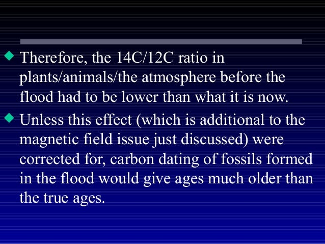 Carbon 14 dating issues