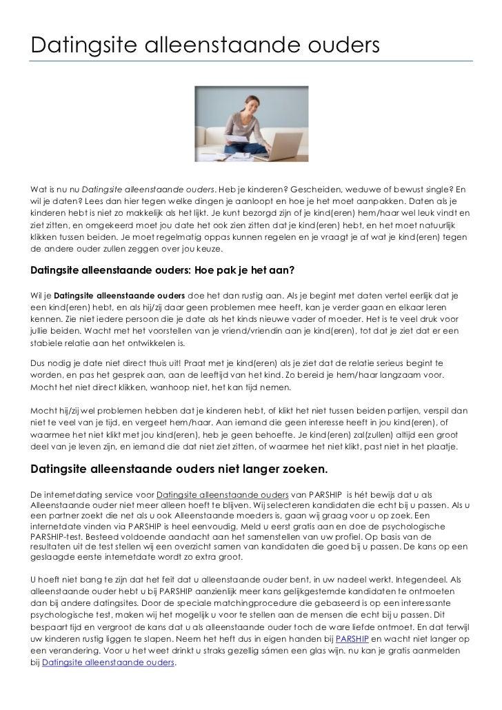 alleenstaande ouder datingsite Vakantie alleenstaande ouder alleenstaande reizen, nederland,europa, hele wereld dating sites single vader en moeders.