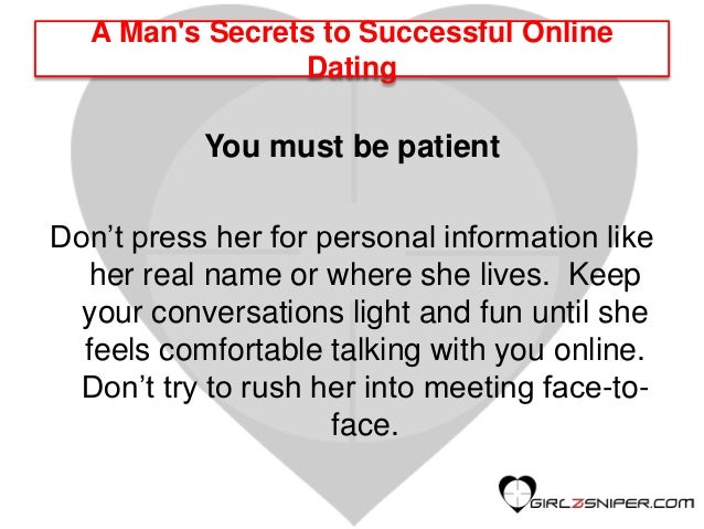 Online dating with instant messaging