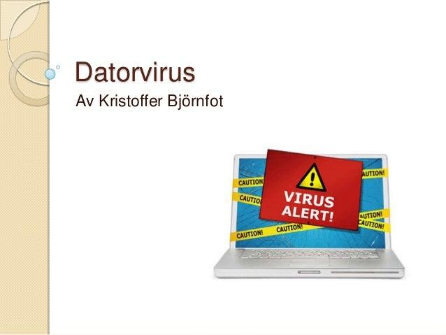 Datorvirus