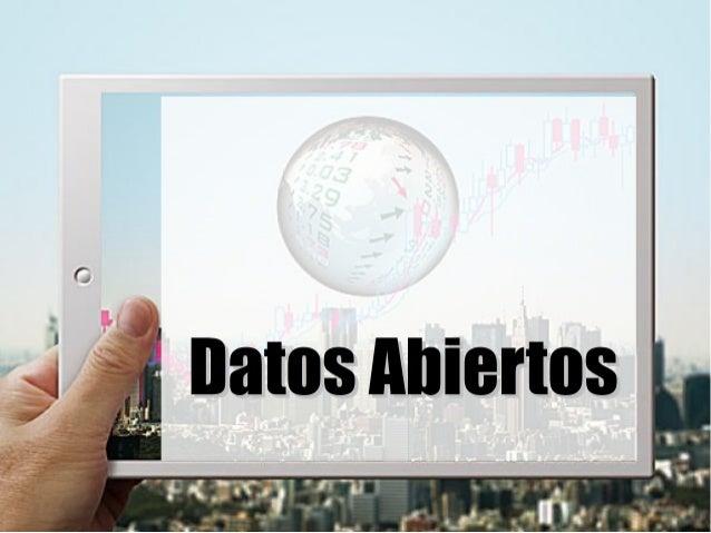 Datos Abiertos (OpenData)