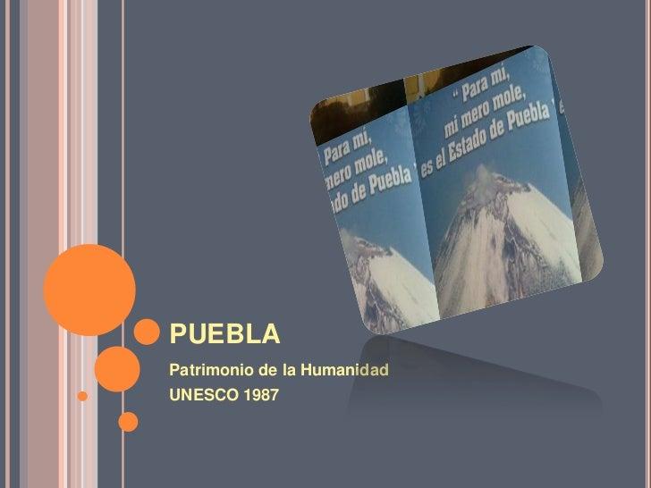 Puebla y sus atractivos naturales