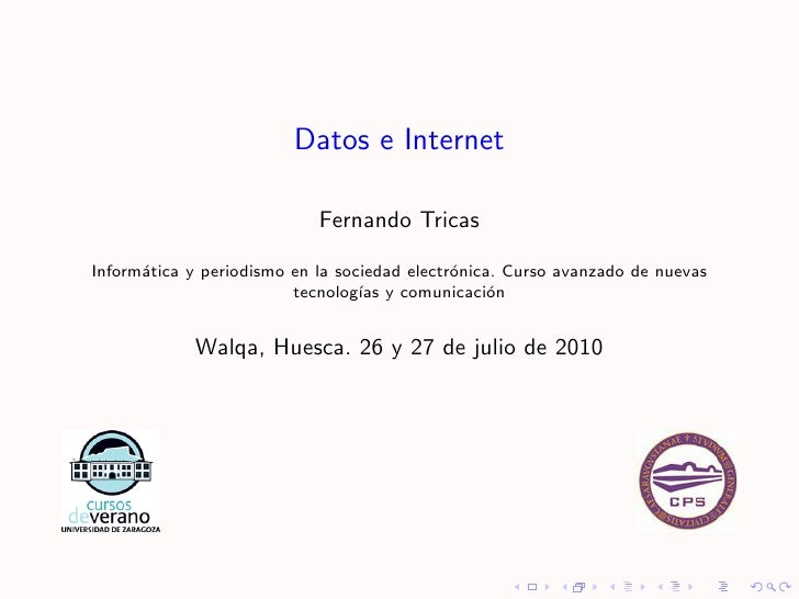 Datos internet