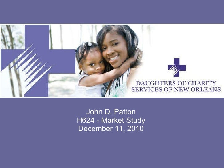 Daughters of charity new orleans